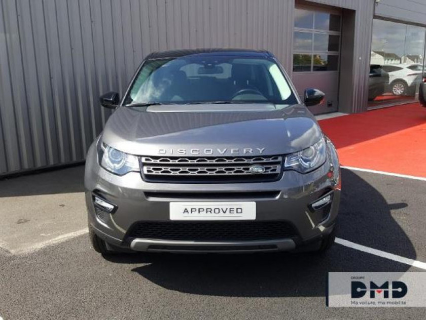 Land-rover Discovery Sport 2.0 Td4 180ch Awd Se Bva Mark Ii - Visuel #4