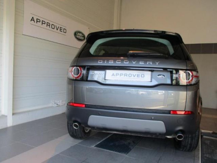 Land-rover Discovery Sport 2.0 Td4 180ch Awd Se Bva Mark Ii - Visuel #8