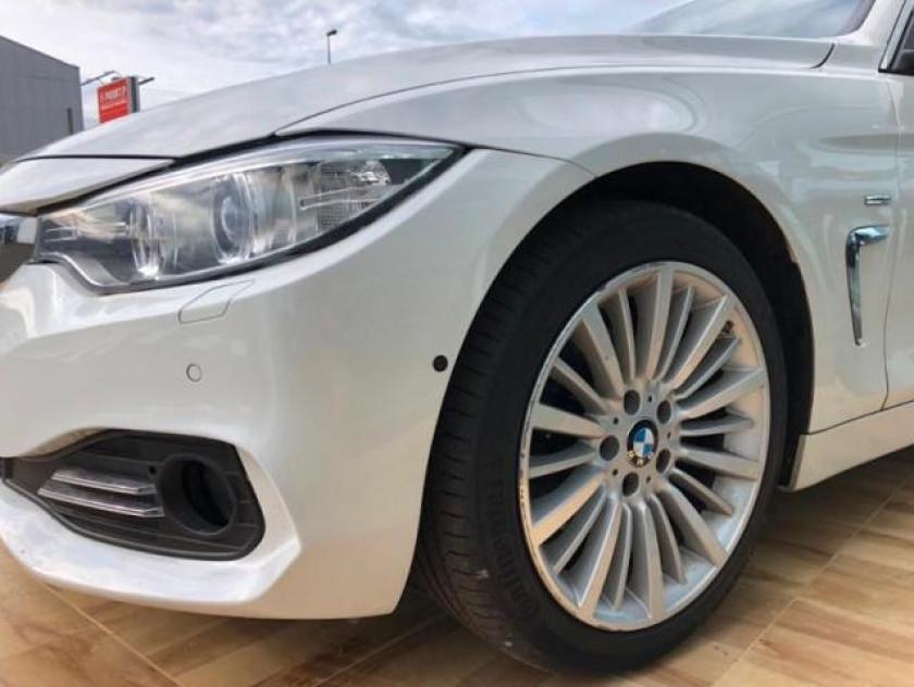 Bmw Serie 4 Gran Coupe 420da 184ch Luxury - Visuel #9