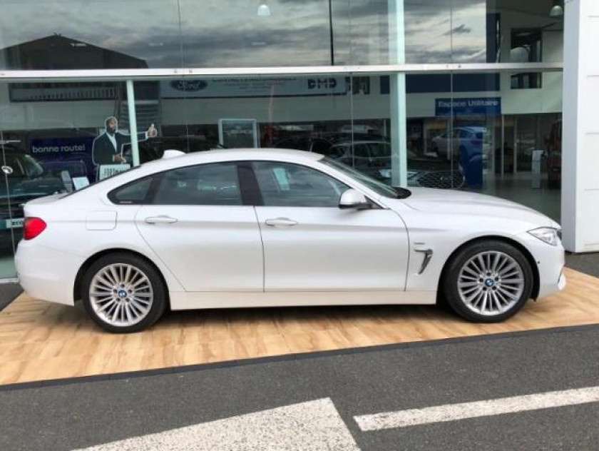 Bmw Serie 4 Gran Coupe 420da 184ch Luxury - Visuel #3