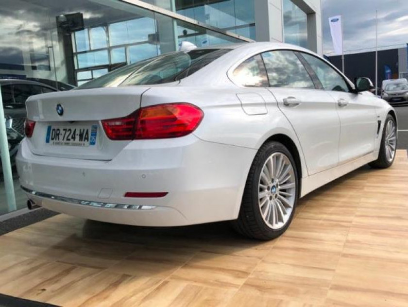 Bmw Serie 4 Gran Coupe 420da 184ch Luxury - Visuel #2