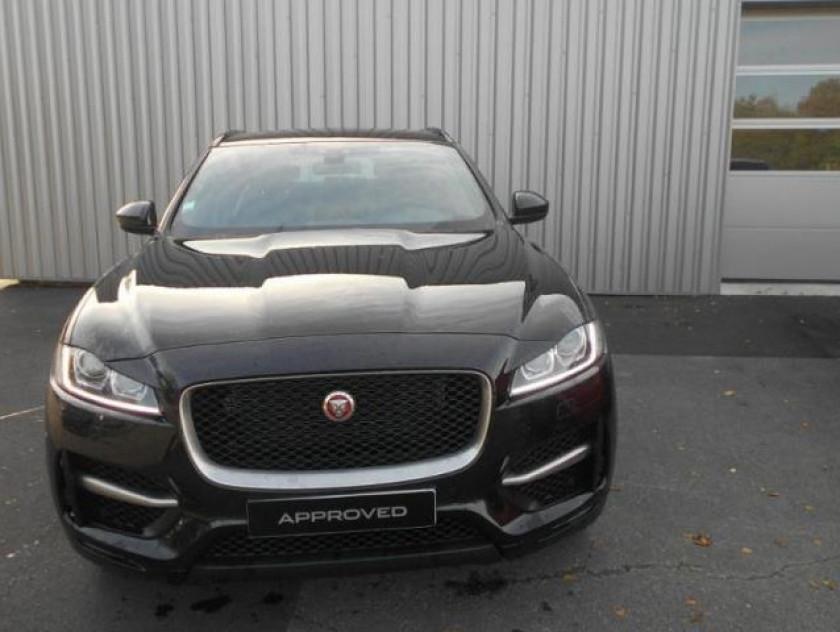 Jaguar F-pace 2.0d 180ch R-sport 4x4 Bva8 - Visuel #1