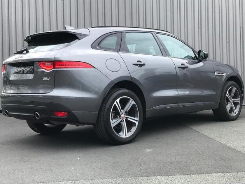 Jaguar F-pace V6 3.0d 300ch R-sport 4x4 Bva8 - Visuel #4