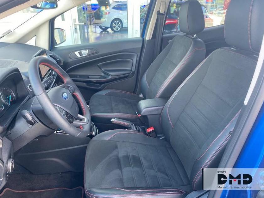 Ford Ecosport 1.0 Ecoboost 100ch St-line Euro6.2 - Visuel #9