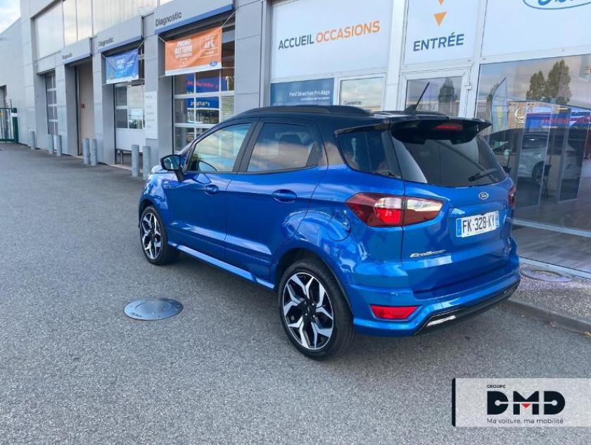 Ford Ecosport 1.0 Ecoboost 100ch St-line Euro6.2 - Visuel #3
