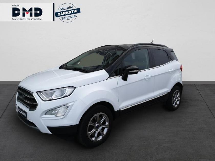 Ford Ecosport 1.5 Ecoblue 125ch Titanium Business 4x2 Euro6.2 - Visuel #1