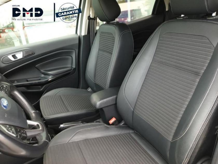 Ford Ecosport 1.5 Ecoblue 125ch Titanium Business 4x2 Euro6.2 - Visuel #9