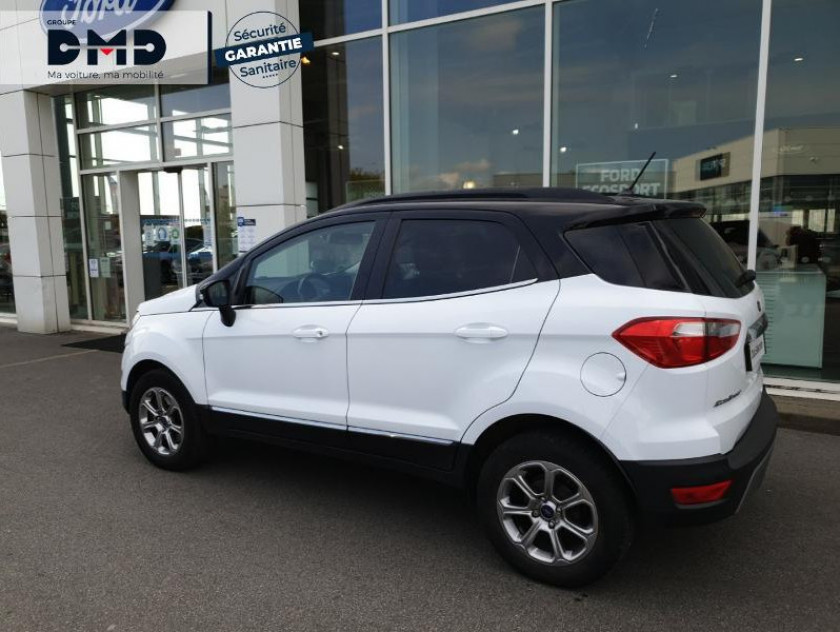 Ford Ecosport 1.5 Ecoblue 125ch Titanium Business 4x2 Euro6.2 - Visuel #3