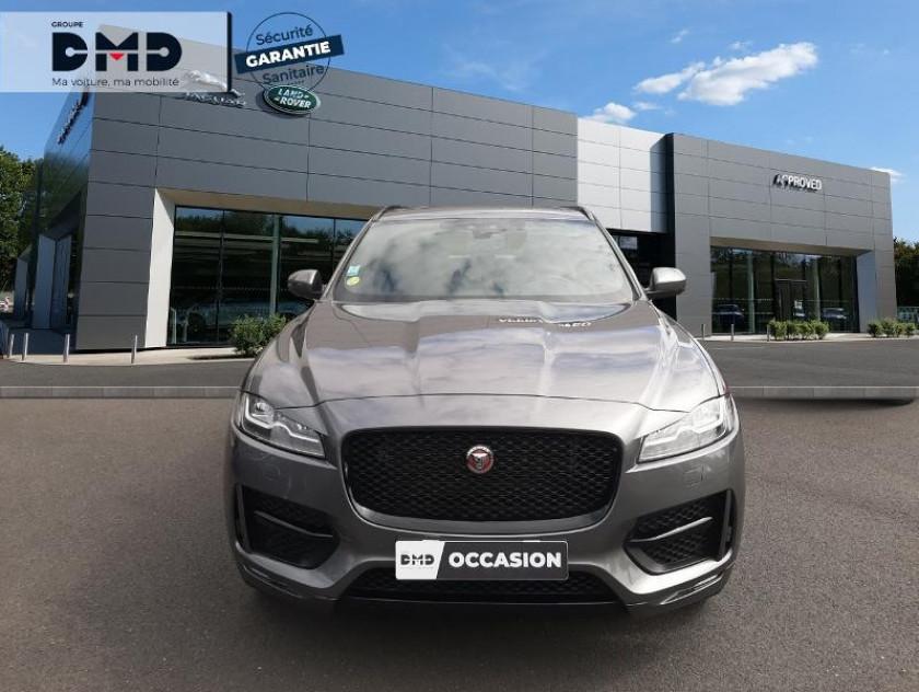 Jaguar F-pace 2.0d 180ch Black Limited R-sport Awd Bva8 - Visuel #4