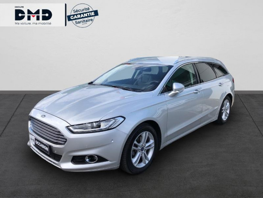 Ford Mondeo 2.0 Tdci 150ch Titanium Business Powershift 5p Euro6.2 - Visuel #1
