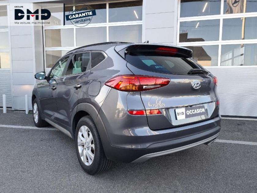 Hyundai Tucson 1.6 Crdi 136ch Creative Dct-7 - Visuel #3