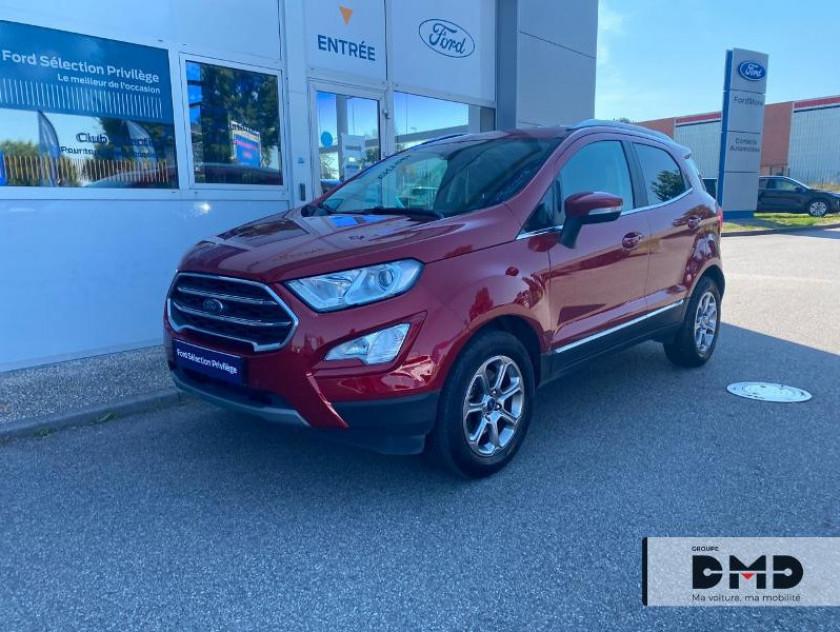 Ford Ecosport 1.0 Ecoboost 100ch Titanium Euro6.2 - Visuel #15