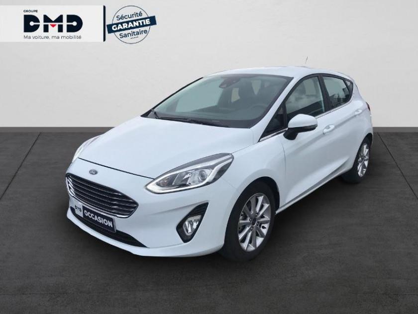 Ford Fiesta 1.0 Ecoboost 100ch Stop&start Titanium Bva 5p Euro6.2 - Visuel #1