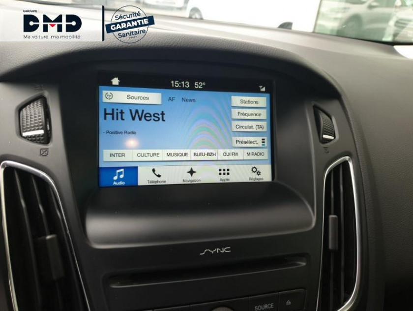 Ford Focus 1.0 Ecoboost 125ch Stop&start Sync Edition - Visuel #6