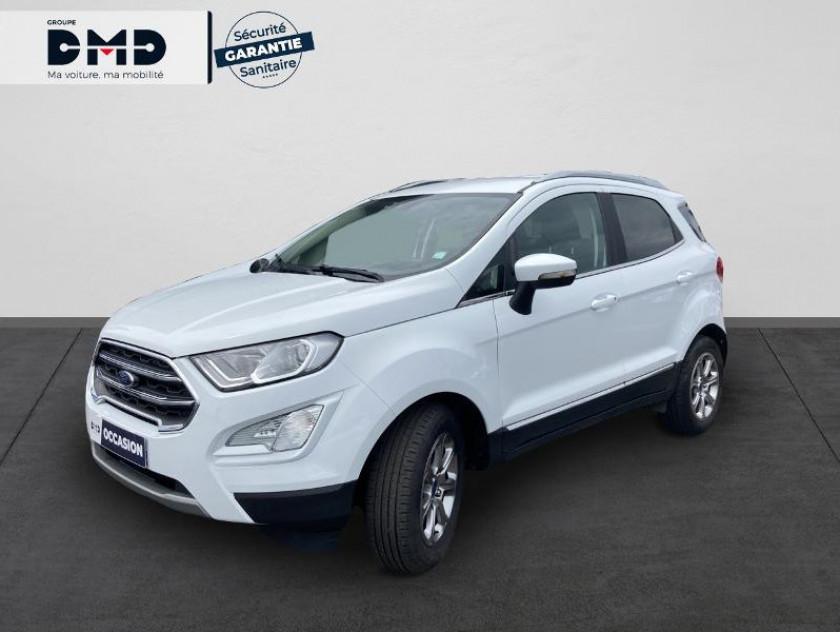 Ford Ecosport 1.0 Ecoboost 100ch Titanium Euro6.2 - Visuel #1