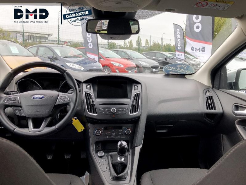 Ford Focus Sw 1.5 Tdci 120ch Stop&start Business Nav - Visuel #5