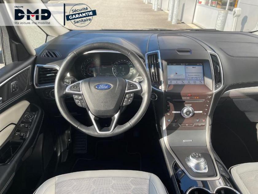 Ford S-max 2.0 Ecoblue 150ch Vignale Bva8 Euro6.2 - Visuel #5
