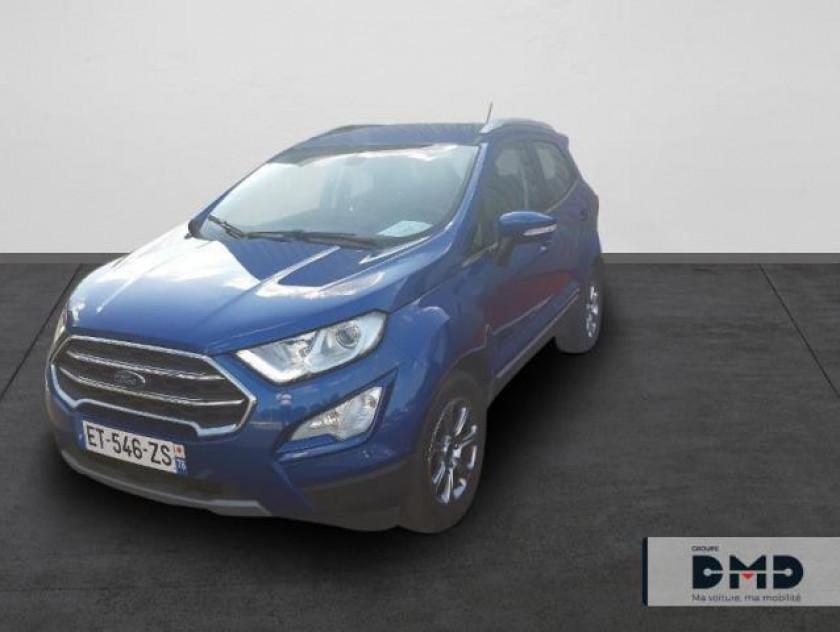 Ford Ecosport 1.0 Ecoboost 125ch Titanium Bva6 - Visuel #1
