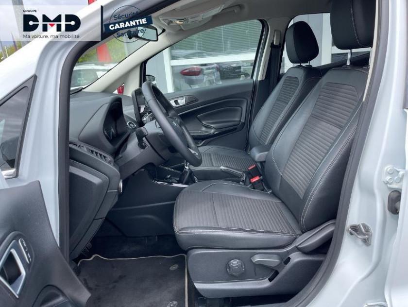 Ford Ecosport 1.0 Ecoboost 125ch Titanium Business Euro6.2 - Visuel #9