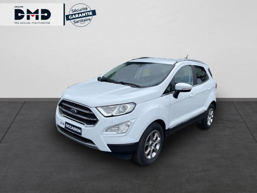 Ford Ecosport 1.0 Ecoboost 125ch Titanium Business Euro6.2 - Visuel #1