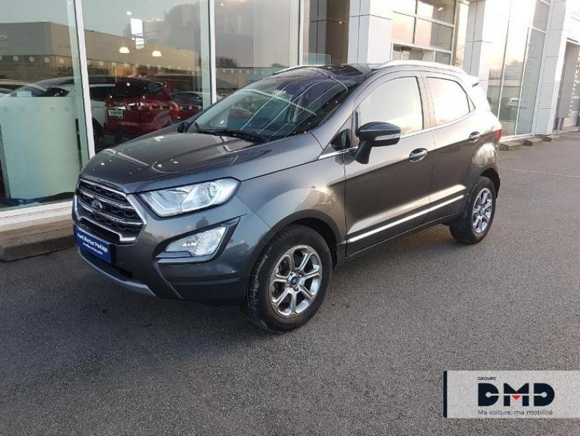 Ford Ecosport 1.5 Ecoblue 100ch Titanium Business Euro6.2 - Visuel #14