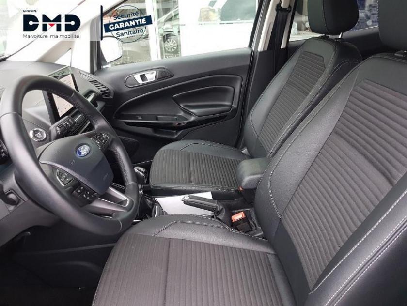 Ford Ecosport 1.5 Ecoblue 100ch Titanium Business Euro6.2 - Visuel #9