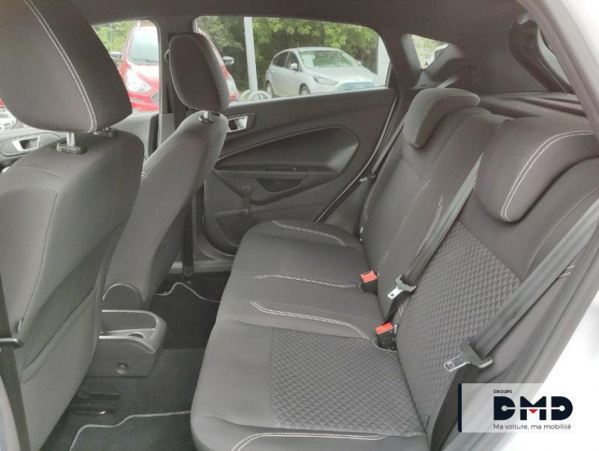 Ford Fiesta 1.5 Tdci 75ch White 5p - Visuel #10