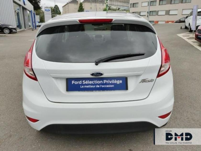 Ford Fiesta 1.5 Tdci 75ch White 5p - Visuel #16