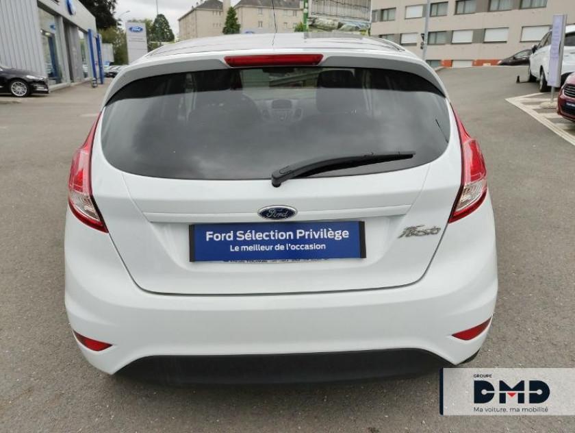 Ford Fiesta 1.5 Tdci 75ch White 5p - Visuel #11