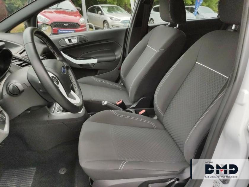 Ford Fiesta 1.5 Tdci 75ch White 5p - Visuel #9