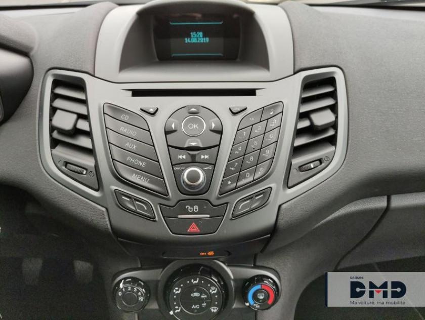 Ford Fiesta 1.5 Tdci 75ch White 5p - Visuel #6