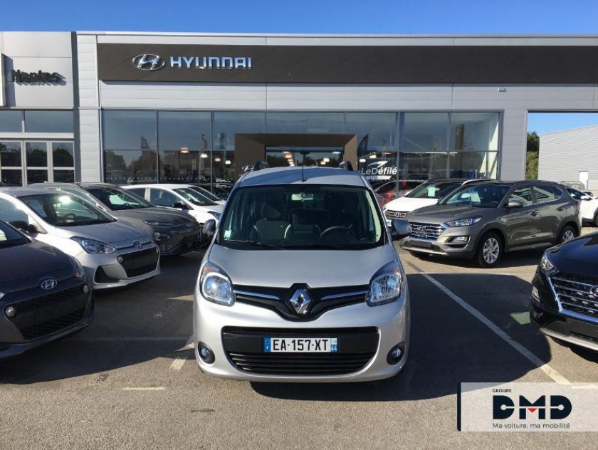 Renault Kangoo 1.5 Dci 90ch Energy Limited Ft Euro6 - Visuel #4