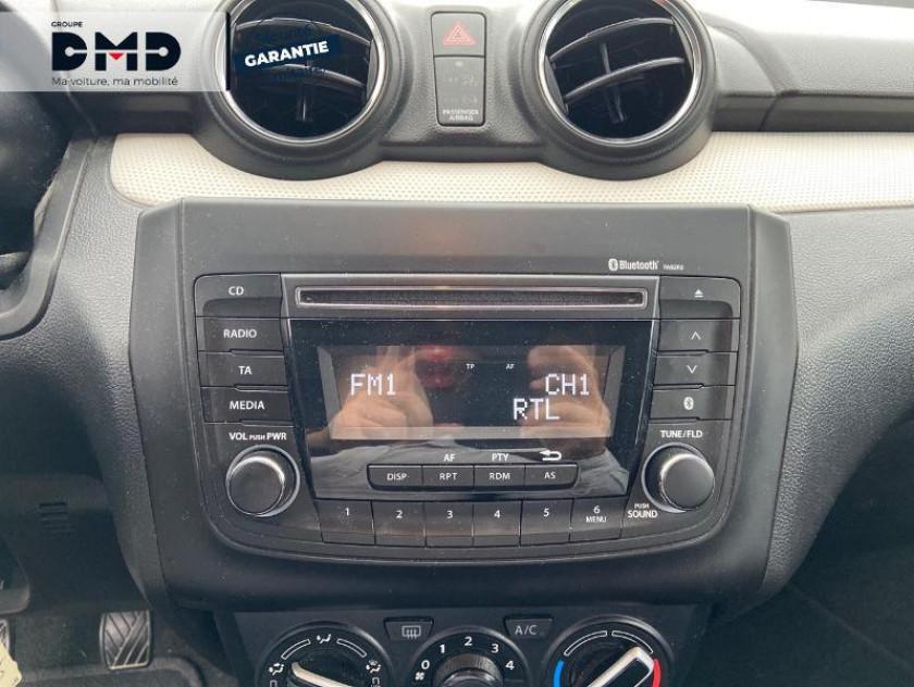 Suzuki Swift 1.2 Dualjet 90ch Avantage Euro6d-t - Visuel #6