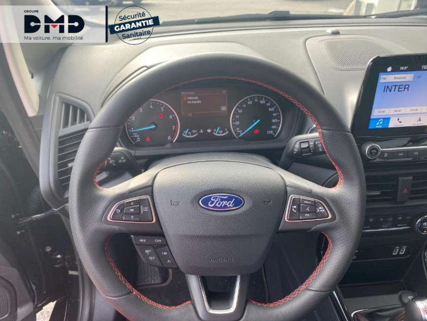 Ford Ecosport 1.0 Ecoboost 100ch St-line Euro6.2 - Visuel #7
