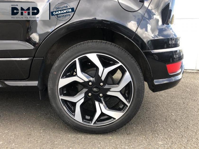 Ford Ecosport 1.0 Ecoboost 125ch St-line Noir/jaune Euro6.2 - Visuel #13