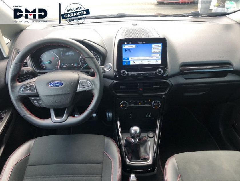 Ford Ecosport 1.0 Ecoboost 125ch St-line Noir/jaune Euro6.2 - Visuel #5