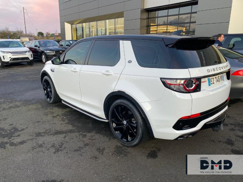 Land-rover Discovery Sport 2.0 Td4 180ch Hse Awd Bva Mark Iii - Visuel #3