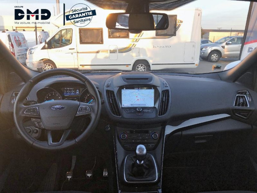 Ford Kuga 1.5 Flexifuel-e85 150ch Stop&start St-line Black & Silver 17 - Visuel #5