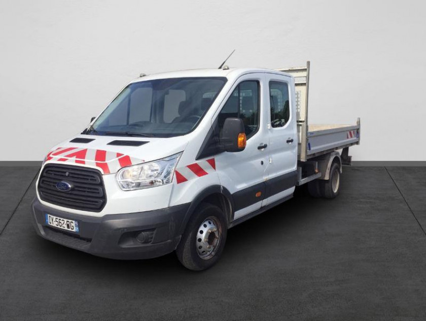 Ford Transit 2t Ccb T350 L4 2.2 Tdci 125ch Ambiente 4x4 Double Cabine - Visuel #1