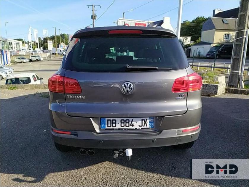 Volkswagen Tiguan 2.0 Tdi 140ch Bluemotion Fap Edition - Visuel #4