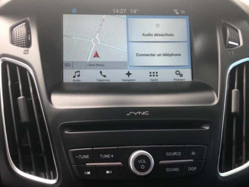 Ford Focus 1.5 Tdci 120ch Stop&start Business Nav - Visuel #12