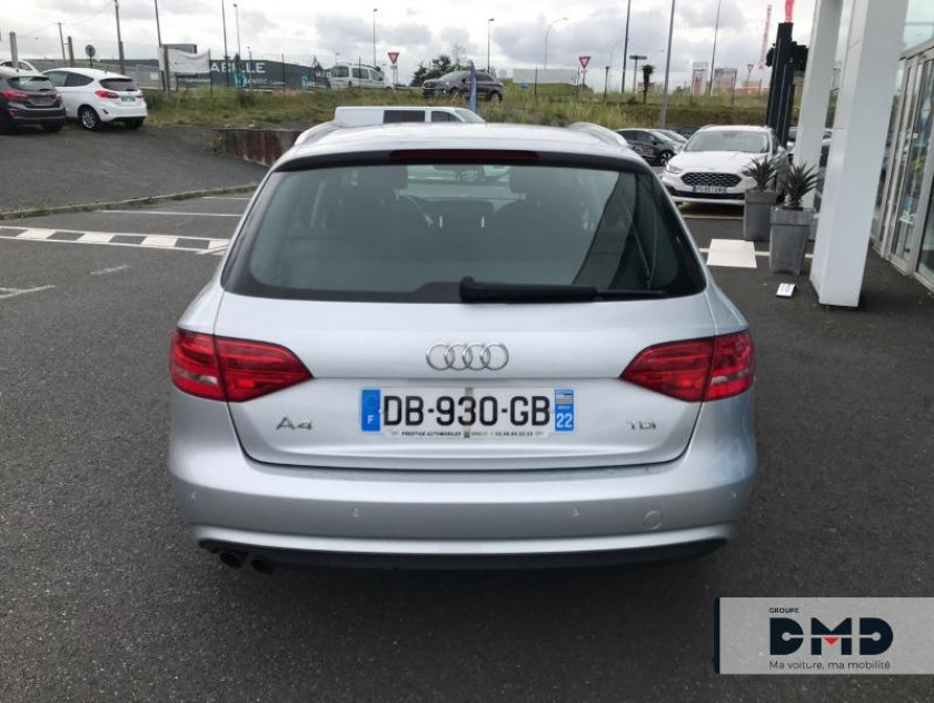 Audi A4 Avant 2.0 Tdi 120ch Dpf Ambiente - Visuel #11