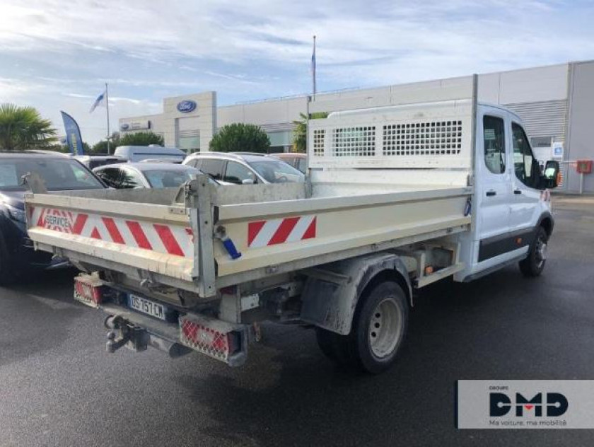 Ford Transit 2t Ccb T350 L4 2.2 Tdci 125ch Ambiente 4x4 Double Cabine - Visuel #3