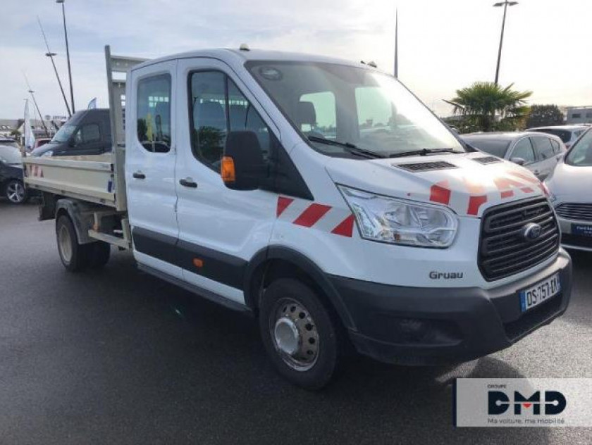Ford Transit 2t Ccb T350 L4 2.2 Tdci 125ch Ambiente 4x4 Double Cabine - Visuel #2