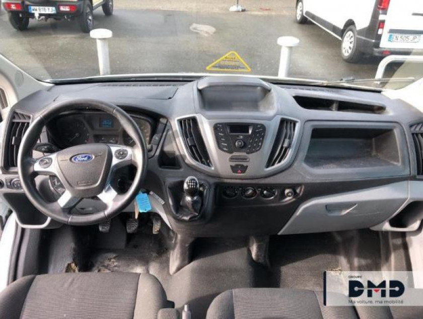 Ford Transit 2t Ccb T350 L4 2.2 Tdci 125ch Ambiente 4x4 Double Cabine - Visuel #5