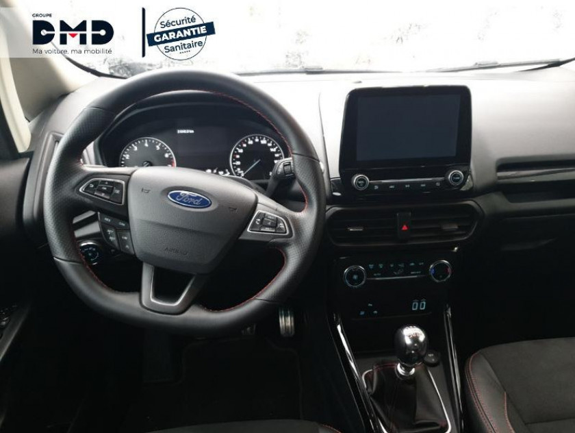 Ford Ecosport 1.0 Ecoboost 100ch St-line Euro6.2 - Visuel #5