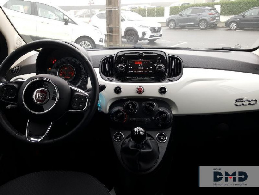 Fiat 500 1.2 8v 69ch Popstar - Visuel #4