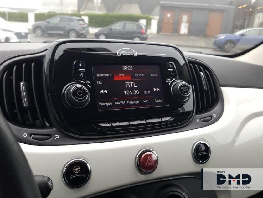 Fiat 500 1.2 8v 69ch Popstar - Visuel #5