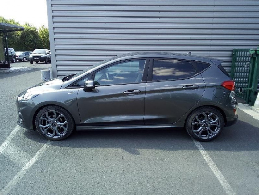 Ford Fiesta 1.0 Ecoboost 125ch Stop&start St-line 5p Euro6.2 - Visuel #2