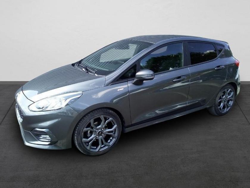 Ford Fiesta 1.0 Ecoboost 125ch Stop&start St-line 5p Euro6.2 - Visuel #1